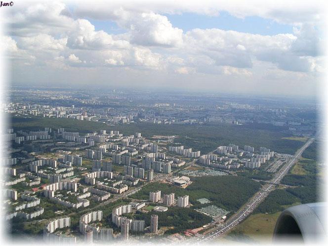Berlin Tegel - Moskau Vnukovo  12.08.2010 -6