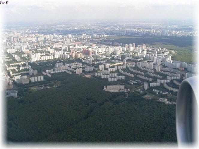 Berlin Tegel - Moskau Vnukovo  12.08.2010 -7