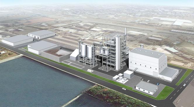 発電量は75MW(約3万5000世帯の消費電力をまかなう)
