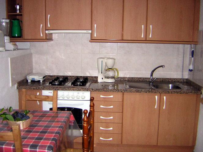 Küche Bungalow 4