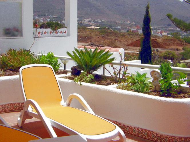 Familienfreunlicher Enstpannungsurlaub in ruhiger Umgebung in einem schönen Ferienhaus mit Meerblick auf Teneriffa