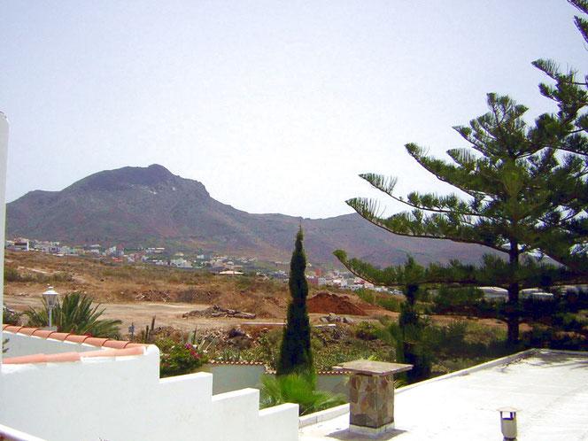 Ausblick auf die Berge von Los Christianos