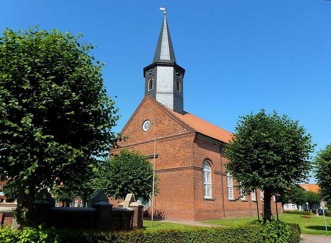 Evang.-Luth. Kirche St. Wulphardi, Neubau von 1835 – 1837.