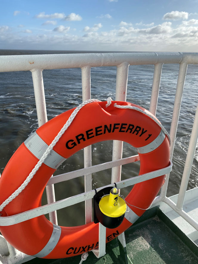 On board, Greenferry I.