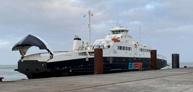 Greenferry I, Port of Cuxhaven.
