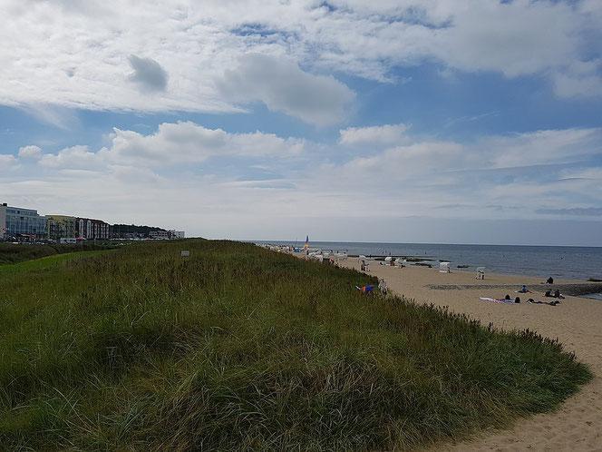 Strand in'n Cuxhobener Stadtdeel Sahlenborg