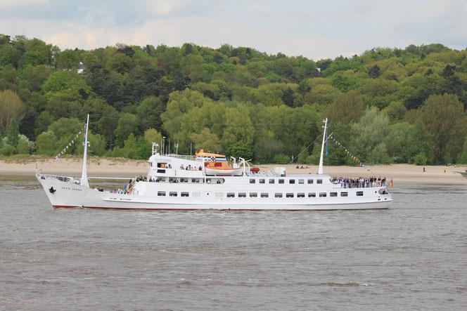 Hamburger Hafengeburtstag 2015: ehemalige Helgolandfähre Seute Deern