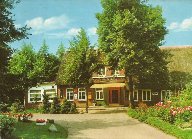 Shop-Angebot: Ansichtskarte - Wingst Gasthaus Zum Balksee   - Endpreis: 9,99 €