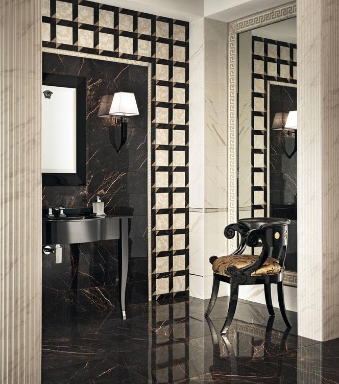 pavimento serie marble versace