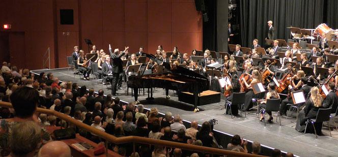 Nach der Aufführung des Zweiten Klavierkonzertes