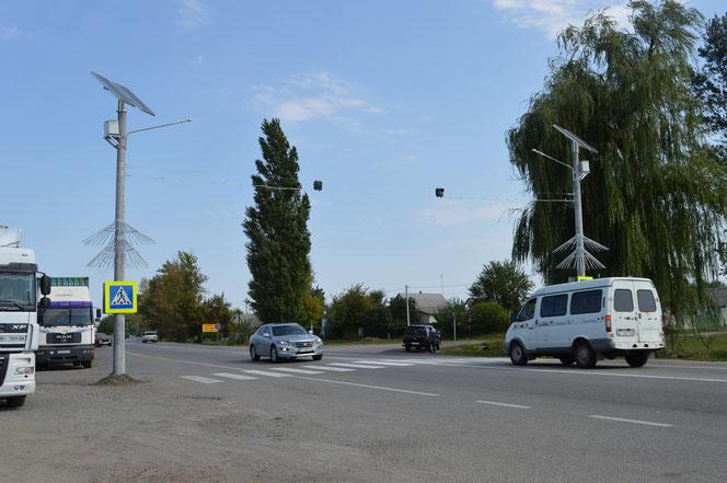 Перехрестя біля автостанції зараз. Фото pl.ukravtodor.gov.ua