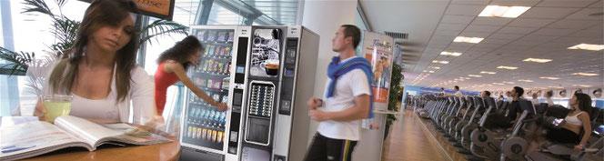 NECTA Tango Snack- Foodautomat & Opera Heissgetränkeautomat