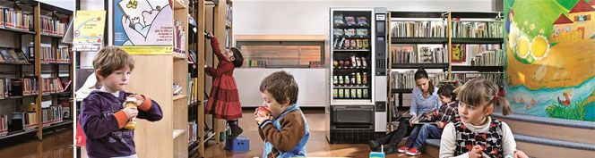 "NECTA- Snack-& Foodautomat ""MELODIA"""