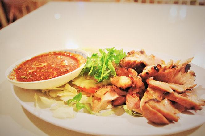 盛り付けられたタイ料理の写真 バンコク・タイランド