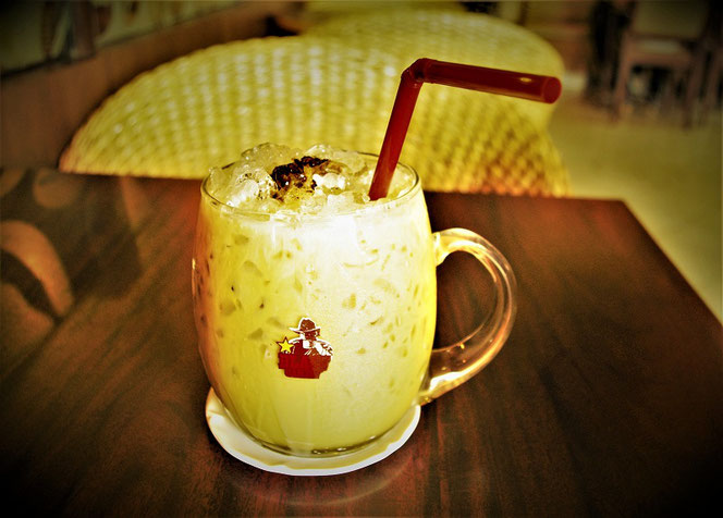 タイ出張旅行中のブラックキャニオンコーヒーにて。コーヒーの写真