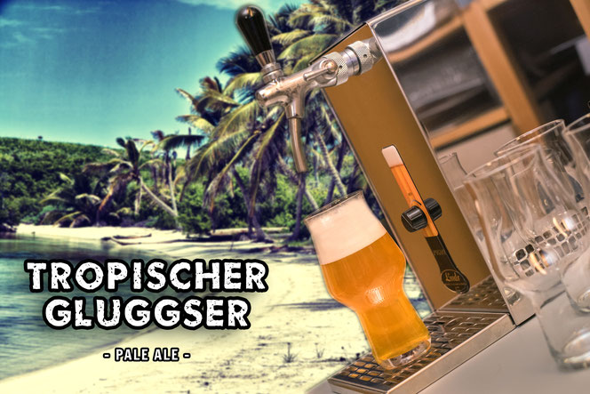 Zapfanlage für Craft Bier mit Durchlaufkühlung