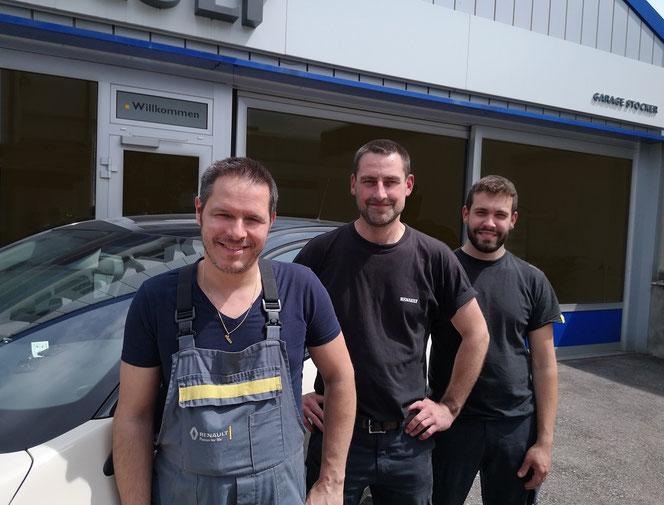 Autowerkstatt: Team der Garage Stocker in Muttenz