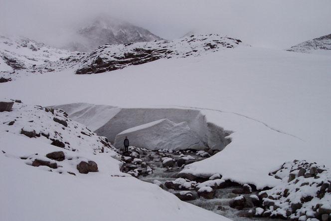 Schnee am Sonnblick