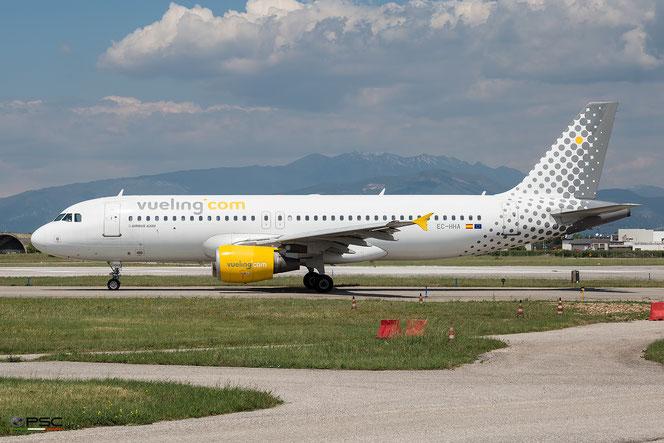 EC-HHA A320-214 1221 Vueling Airlines @ Aeroporto di Verona - 2016 © Piti Spotter Club Verona (03.05.2016)