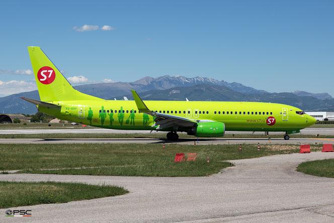 VQ-BRP B737-8LP 41709/5002 S7 Airlines @ Aeroporto di Verona - 2016 © Piti Spotter Club Verona (04.05.2016)