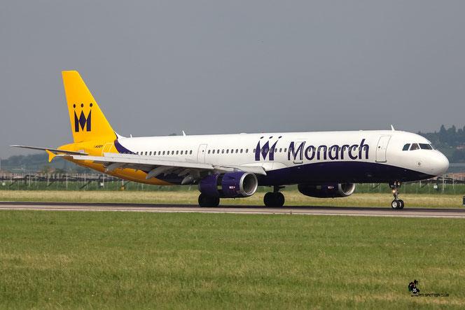G-OZBO A321-231 1207 Monarch Airlines @ Aeroporto di Verona - 02/07/2016 © Piti Spotter Club Verona