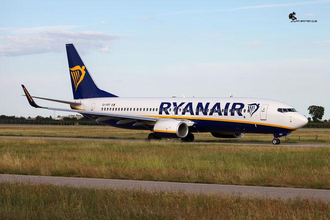 EI-FRT B737-8AS 44740/5929 Ryanair @ Aeroporto di Verona - 14/07/2016 © Piti Spotter Club Veron