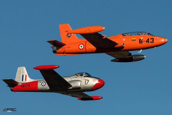 Aermacchi MB-326 e il BAC Jet Provost T.3 / 3A di Renzo Catellani