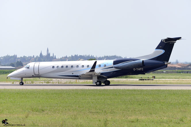 G-THFC ERJ135BJ 14500954 London Executive Aviation @ Aeroporto di Verona - 02/07/2016 © Piti Spotter Club Verona