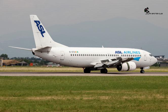 EI-STA B737-31S 29057/2942 ASL Airlines Ireland @ Aeroporto di Verona - 02/07/2016 © Piti Spotter Club Verona