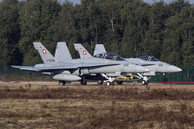 Switzerland - Air Force McDonnell Douglas F/A-18 Hornet, foto archivio PSC