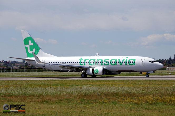 F-GZHP B737-8K2 44566/5345 Transavia France @ Aeroporto di Verona - 2016 © Piti Spotter Club Verona