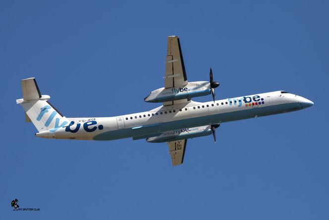 G-JECR DHC-8-402 4139 Flybe - British European @ Aeroporto di Verona - 16/07/2016 © Piti Spotter Club Verona