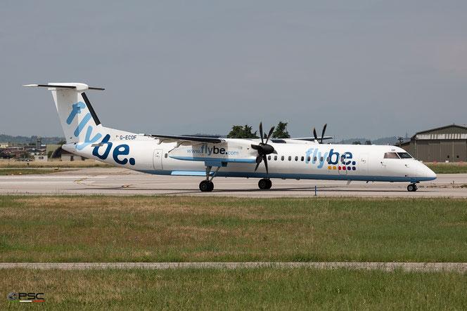 G-ECOF DHC-8-402 4216 Flybe - British European @ Aeroporto di Verona - 2016 © Piti Spotter Club Verona (18.05.2016)