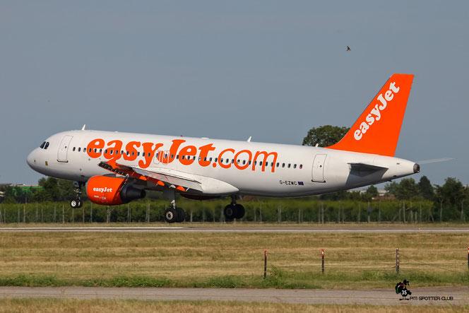 G-EZWC A320-214 5236 EasyJet Airline @ Aeroporto di Verona - 16/07/2016 © Piti Spotter Club Verona