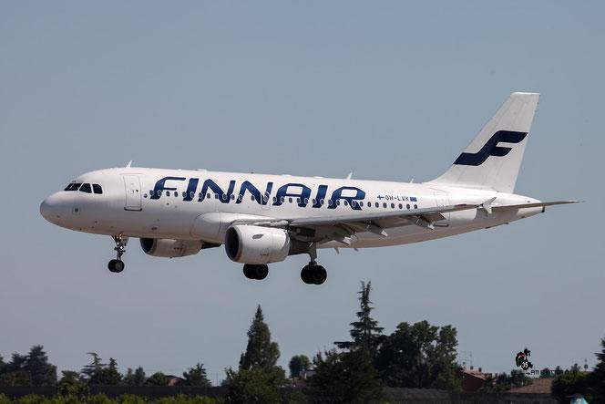 OH-LVK A319-112 2124 Finnair @ Aeroporto di Verona - 16/07/2016 © Piti Spotter Club Verona
