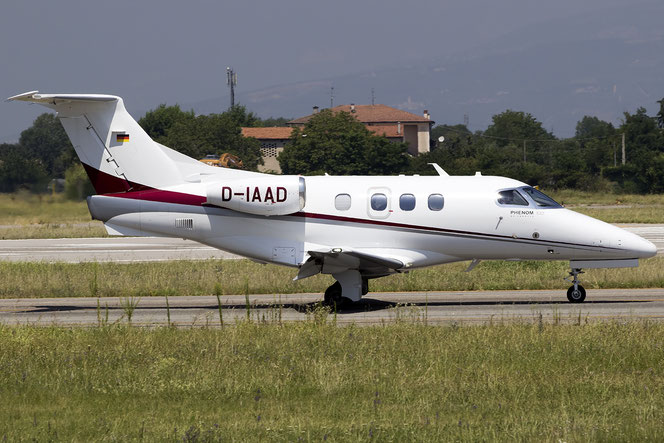 D-IAAD EMB500 50000215 Arcus Executive Aviation AG @ Aeroporto di Verona - 18/07/2016 © Piti Spotter Club Verona
