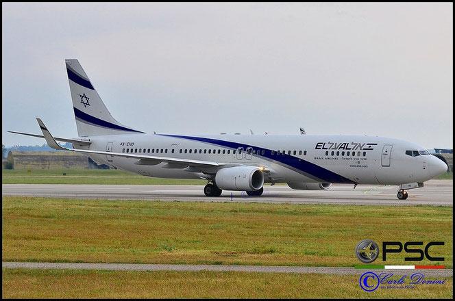 4X-EHD B737-958ER 41555/5311 El Al Israel Airlines - @ Aeroporto di Verona - 2016 © Piti Spotter Club Verona