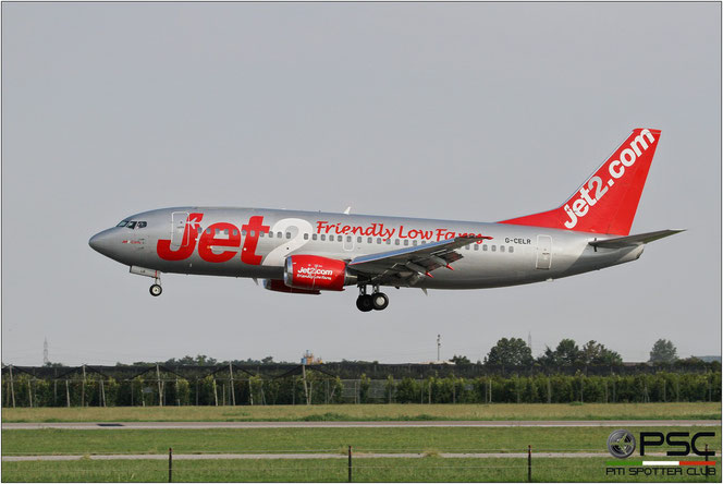 G-CELR B737-330QC 23523/1271 Jet2 @ Aeroporto di Verona - 17/08/2016 © Piti Spotter Club Verona