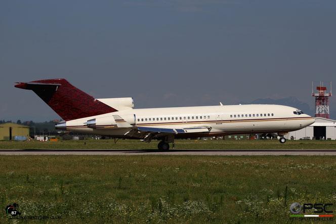 N311AG B727-17 20512/858 Gordon P. Getty @ Aeroporto di Verona - 17/08/2016 © Piti Spotter Club Verona