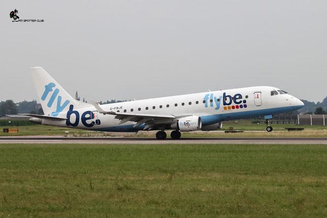 G-FBJE ERJ175STD 17000336 Flybe - British European @ Aeroporto di Verona - 02/07/2016 © Piti Spotter Club Verona