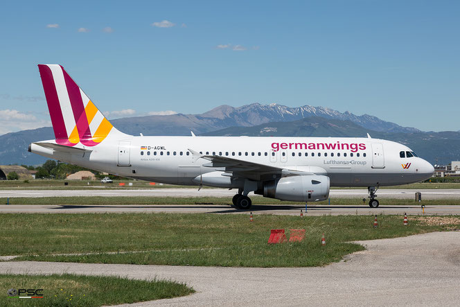 D-AGWL A319-132 3534 Germanwings @ Aeroporto di Verona - 2016 © Piti Spotter Club Verona (04.05.2016)