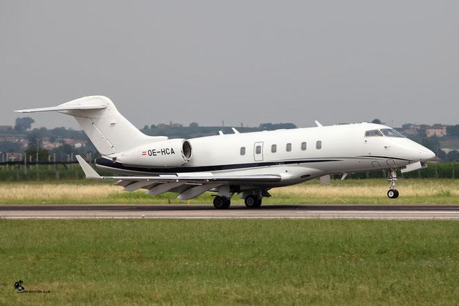 OE-HCA CL-300 20274 Avag Air GmbH @ Aeroporto di Verona - 02/07/2016 © Piti Spotter Club Verona