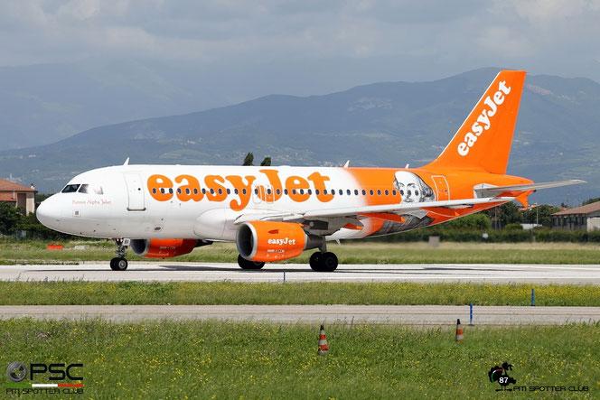 G-EZBI A319-111 3003 EasyJet Airline @ Aeroporto di Verona - 17/06/2016 © Piti Spotter Club Verona