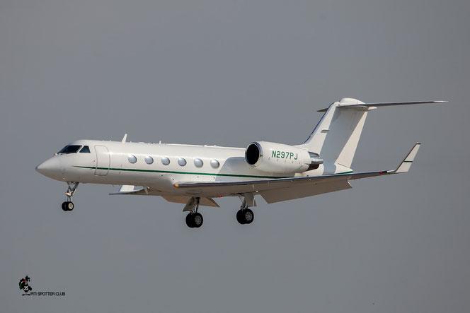 N297PJ G-IV 1160 Journey 1160 LLC @ Aeroporto di Verona - 23/07/2016 © Piti Spotter Club Verona