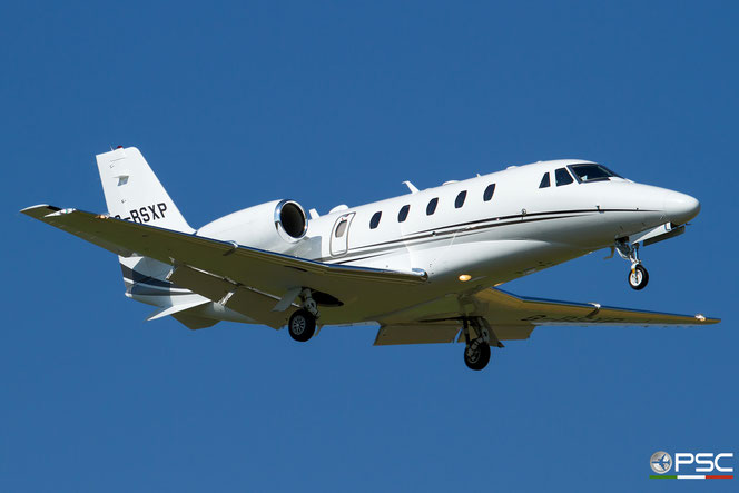G-RSXP Ce560XLS+ 560-6198 Fly Vectra Ltd. @ Aeroporto di Verona - 31/08/2016 © Piti Spotter Club Verona