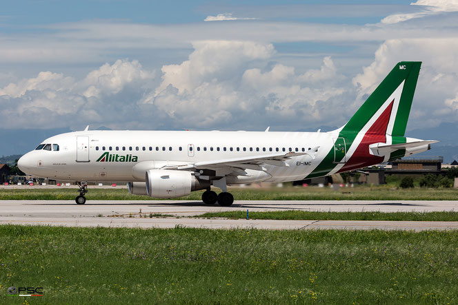 EI-IMC A319-112 2057 Alitalia @ Aeroporto di Verona - 15/06/2016 © Piti Spotter Club Verona