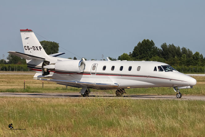 CS-DXP Ce560XLS 560-5702 NetJets Europe @ Aeroporto di Verona - 16/07/2016 © Piti Spotter Club Verona