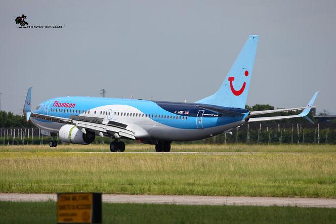 G-TAWI B737-8K5 37267/4006 Thomson Airways @ Aeroporto di Verona -18/06/2016 © Piti Spotter Club Verona