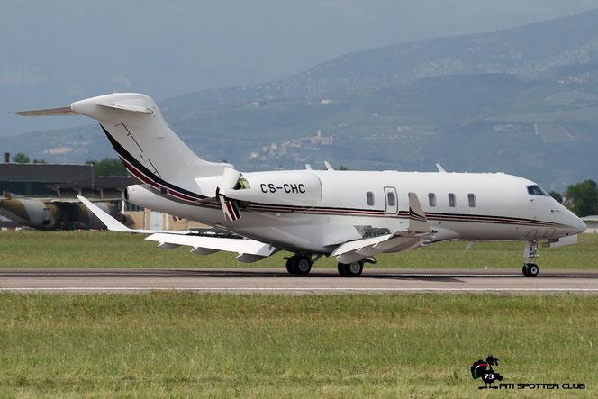 CS-CHC CL-350 20572 NetJets Europe @ Aeroporto di Verona - 2016 © Piti Spotter Club Verona