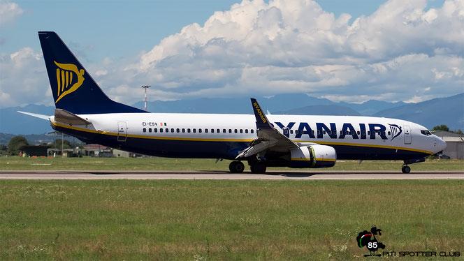 EI-ESV B737-8AS 34993/3814 Ryanair @ Aeroporto di Verona - 10/08/2016 © Piti Spotter Club Verona